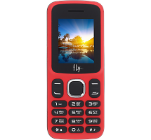 Телефон Fly FF180 Red